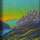Светлана Морозова. Лучше гор могут быть только горы. 2001. Фоторепродукция Татья