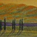 Светлана Морозова. Мандариновые горы. 1991. Фоторепродукция Татьяны Шепелевой