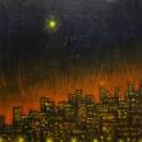 Светлана Морозова. Ночной туманный Владивосток. 1987. Фоторепродукция Татьяны Ше