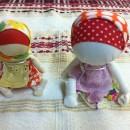Куклы-головастики. Работа Вихаревой Н.О.