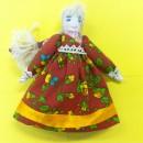 Модульная кукла с косой. Работа Вихаревой Н.О.
