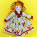 Модульная кукла в шляпке. Работа Вихаревой Н.О.