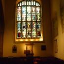 Англиканский храм в Кембридже. Старинные витражи