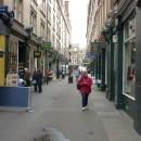 Лондонская улочка с антикварными и книжными лавками
