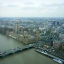 Вид на Вестминстер с колеса обозрения