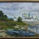 Макарьевский монастырь. Худ. Татьяна Яковлева. Холст, масло. 2007 год. Фото Тать
