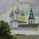 Макарьевский монастырь. Фрагмент. Худ. Татьяна Яковлева. Холст, масло. 2007 год.