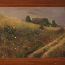 Картина неизвестного мастера, принадлежавшая семье Фатьяновых