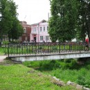 Площадь в Вязниках перед ''Музеем песни XX века''