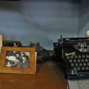 Фрагмент рабочего кабинета А.И. Фатьянова в Москве, воссозданного в ''Музее песн
