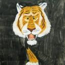 Тигр. Авторы - семья Солош