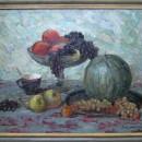 В.Г. Щелоков. Натюрморт с виноградом
