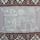 Панно ''Нижегородский сувенир'' (100х70). 1978 г. Фрагмент. Худ. Г.Г. Максимова.