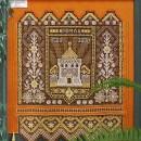 Панно-картина ''500 лет Нижегородскому кремлю'' (70х60). 2000 г. Худ. Н.В. Харла