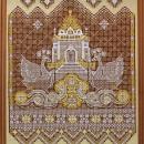 Панно ''Возрождение'' (90х70). 2004 г. Худ. Н.В. Харламова. Выставочный зал ЗАО
