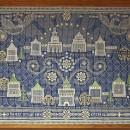 Панно ''Нижегородский кремль'' (126х76). 2006 г. Худ. Н.В. Харламова. Выставочны