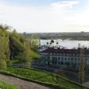 Вид с набережной Федоровского на метромост, Нижегородскую духовную семинарию и Б