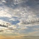 Панорама майского неба с набережной Федоровского. Нижний Новгород, 9 мая 2013 го