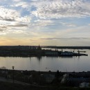 Вид на стрелку с набережной Федоровского. Нижний Новгород, 9 мая 2013 года. Фото