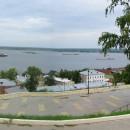 Набережная Федоровского. Нижний Новгород, 15 августа 2012 года. Фото Татьяны Шеп