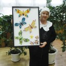 Вера Сергеевна Хайтарова представляет свои работы в технике модульного оригами