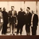 А.М. Горький и Р. Роллан среди художников Палеха. 1935 год. Из собрания музея И.