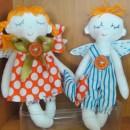 Спящие ангелы. Авторские куклы. Работа Н.О. Вихаревой