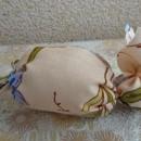 Зайчик. Подарочный мешочек для пасхального яйца. Работа Н.О. Вихаревой