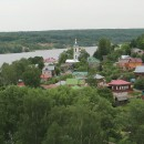 Панорама Плёса с Соборной горы. Фото Татьяны Шепелевой