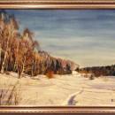 Зима на Узоле. Акварель. 2016. Худ. Величко В.Н.. Фото Татьяны Шепелевой