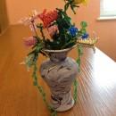 Цветы из бисера. Работа Захаренковой Н.В.