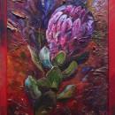 Ирина Корягина. Африканская роза. Холст, масло