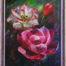 Ирина Корягина. Волшебные цветы. Холст, масло