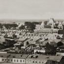 Панорама Нижегородской ярмарки от Спасского собора до Окской набережной