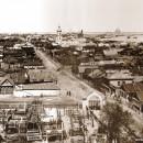 Панорама старого Канавина и прилегающей к нему территории Нижегородской ярмарки.