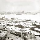 Нижний Новгород. Вид на Стрелку. Фото М.П. Дмитриева. Нач. XX в.