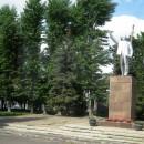 Гусь Хрустальный. Типовой памятник В.И. Ленину - напоминание о минувшей эпохе