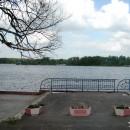 Гусь Хрустальный. Набережная городского озера