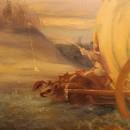 Валерий Багаев. Мелодия уходящей осени. Фрагмент. Холст, масло. 2015. Фото Татья