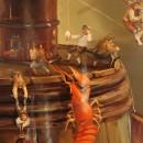 Валерий Багаев. Музыка неиссякаемых кувшинов. Фрагмент. Холст, масло. 2013. Фото