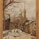 А.Н. Юрков. Около мечети. 2003