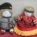 На свидании. Куклы. Работа Федосеевой М.В.