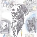 Тогузова Наталья. «Коллаж к произведениям Ф.М. Достоевского». Август