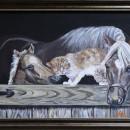 Анастасия Молчанова. Дружба домашних животных. 2014