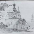 Валерия Кузина. Старая церквушка. Суздаль. 2014 год