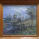 Кувшинова Н.Л. Вид на Макарьевский монастырь. Асбест, пастель. 1996 г.
