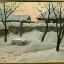 Щелоков В.Г. Мягкий зимний вечер. 1996 г.